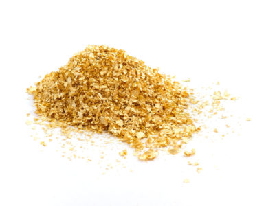 Goldstreusel zum Essen